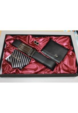 Set kravata,peňaženka,opasok 7-0367