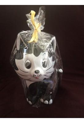 Pokladnička mačka keramická 25cm