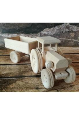 Traktor s vozom, 34 cm